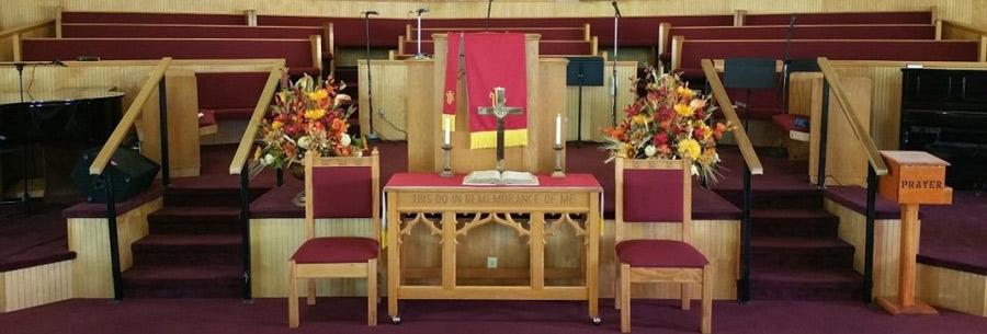 Macedonia Missionary Baptist Church Pulpit